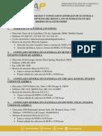 Info Embajadas Consulados Servicios Renap