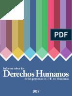 Informe sobre la Situación de los Derechos Humanos de las Personas LGBTI en Honduras_SOMOS CDC/ Comité de la Diversidad Sexual de Honduras.
