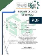Reporte de Casos de Estudio en Proceso