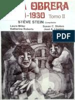Stein - Lima Obrera, 1900 1930, Tomo II