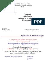Clase 01. Morfologia Microbiana