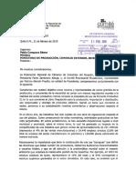 Oficio Sobre Regulación de Productos de Plástico