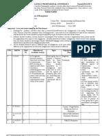 Term Paper of Entrepreneourship