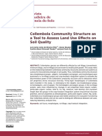 Collembola Community Structure as a Tool to Assess Land Use Effects on Soil Quality