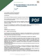 01 - REGLAMENTO  D.E. 2393 SEGURIDAD SALUD TRABAJADORES M MEDIO AMBIENTE TRABAJO.pdf