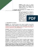 Modelo de Queja contra Servidora Judicial ante ODECMA.