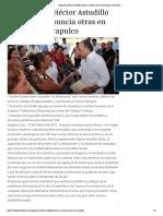 09-02-2019 Supervisa Héctor Astudillo obras y anuncia otras en Acapulco.