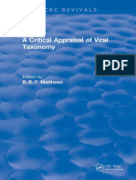 A Crtitical Appraisal of Viral Taxnomomy - Matthews 2018.pdf