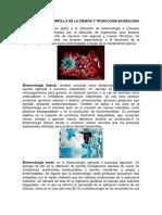 Impacto Del Desarrollo de La Ciencia y Tecnología en Biología Impacto Del Desarrollo de La Ciencia y Tecnología en Medicina