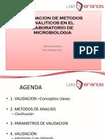 10. Validacion de Metodos Microbiologia