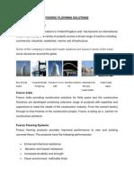 Fosroc Flooring Solutions
