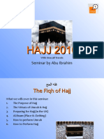 HAJJ Seminar 2010 for Onecall Travels by Abu Ibrahim