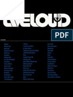 Liveloud Songboard 160604
