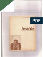 Proverbios - Carolina Maria de Jesus.