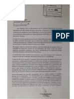 Nota de empresarios del NEA presentada a AFIP