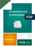 3-4-El Marxismo en La Antropología