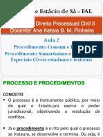 Direito Processual Civil II - Aula 2