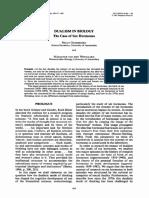 Dualism in Biology. The case of sex hormones. Oudshoorn 1991