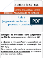 Direito Processual Civil II - Aula 6