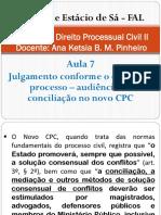 Direito Processual Civil II - Aula 7