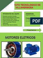 exposicion de motores electricos aplicado a la industria petrolera