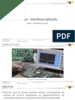 ELE-16 – Aula 0 - AERAESP - Introdução à Eletrônica - 03AGO18