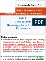 Direito Processual Civil II - Aula 11