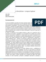 Didactica de Las Disciplinas Lengua Inglesa