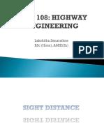 5. Geometric Design of Highways