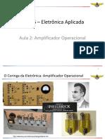 Ele-16 – Aula 2 - Aeraesp - Amp Op - 17ago18