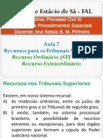Direito Processual Civil III - Aula 7
