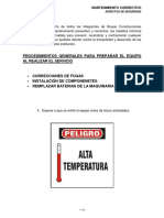 Procedimientos Generales Para Mantenimiento Correctivo (Compendio)