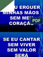QUE MINHA VIDA CANTE A TI.pptx