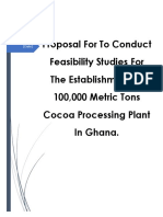 Cocoa Processing Ltd Proposal