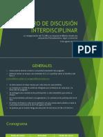 1er FORO DE DISCUSIÓN INTERDISCIPLINAR.pptx