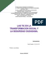 Las Tic y Transformacion Social