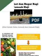 tips sehat bagi jamaah haji
