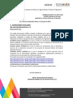 Acuerdos Publicados en El DOF
