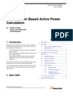 Time Domain Based Active Power Calculation