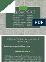 ISBD KELOMPOK 1