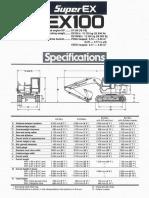EX 100-2 Brochure
