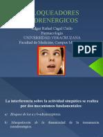 Farmacología del SNP_ Edgar Rafael Cagal Cirilo_ BLOQUEADORES ADRENÉRGICOS