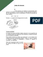 Métodos de Dureza MATERIALES