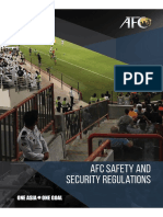 AFC Safety and Security Regulations