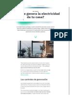 ¿Cómo Se Genera La Electricidad de Casa_ _ Lucera Energía