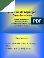 Caracteristicas Del S Asperger