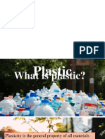 Plastic Report Presentation