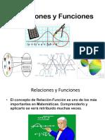 1.1 Relaciones y Funciones