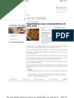 (Cookbook - Cuisine - Fr) - Recettes de Julie Andrieu