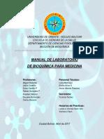 Bioquimica-med. Guia de Laboratorio 2017